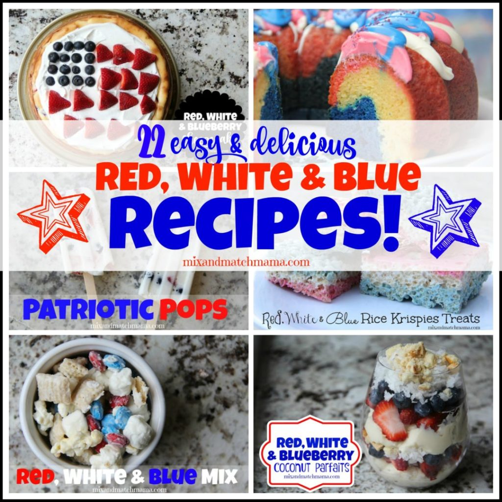 Red, White & Blue Recipes