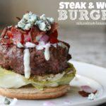 Steak & Wedge Burgers