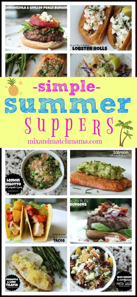 Simple Summer Suppers