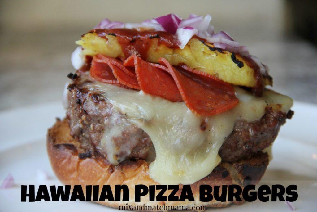Hawaiian Pizza Burgers