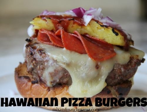 Hawaiian Pizza Burgers