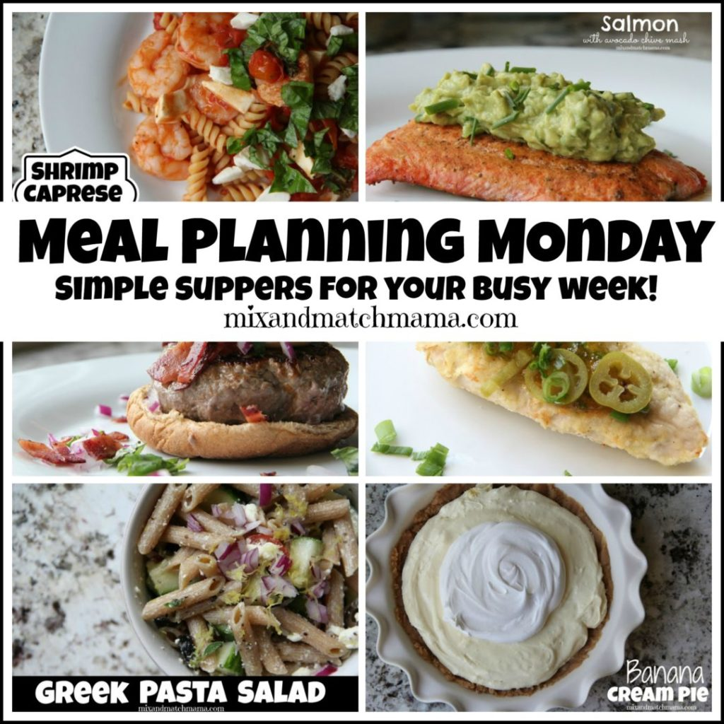 , Meal Planning Monday #239