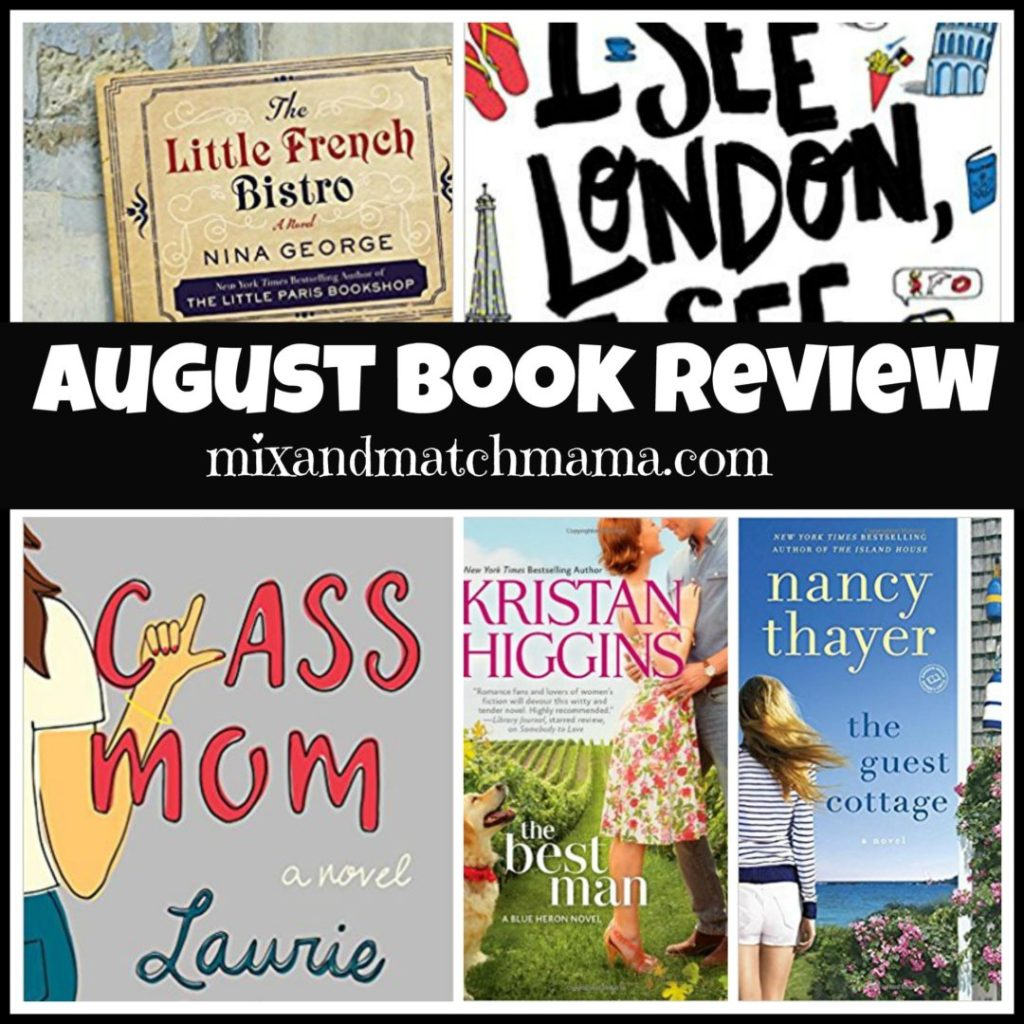 August Book Reivew