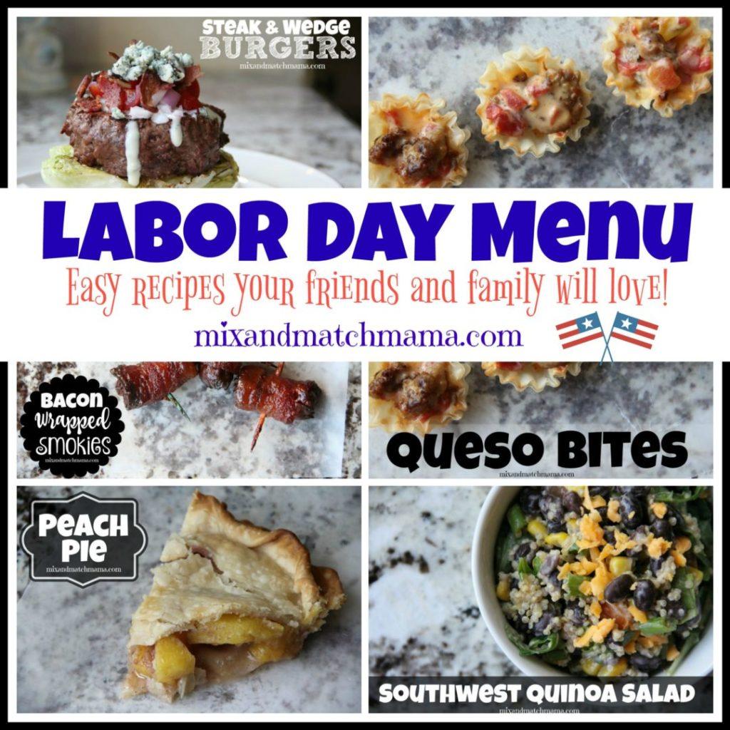 Labor Day Menu Recipe, Labor Day Menu