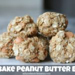 No Bake Peanut Butter Bites