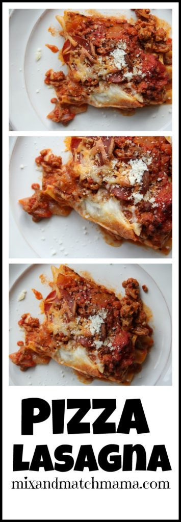Pizza Lasagna Recipe, Pizza Lasagna
