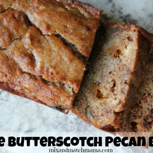 Apple Butterscotch Pecan Bread