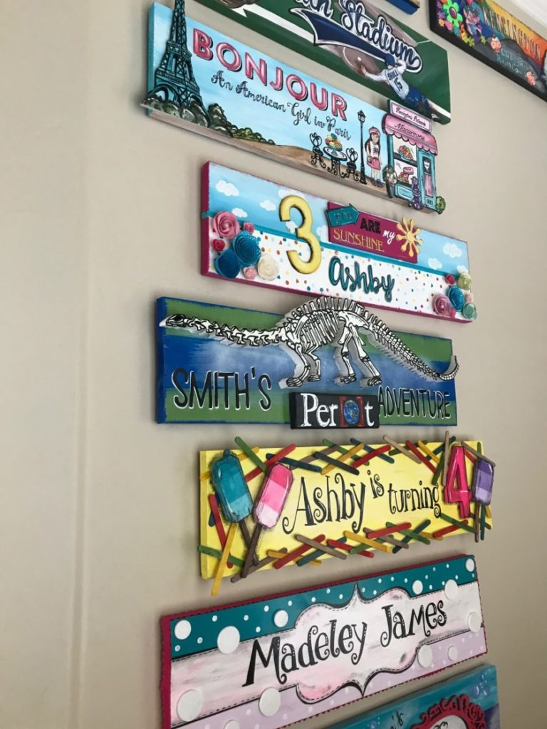 , Tuesday Talk: Our Sign Wall