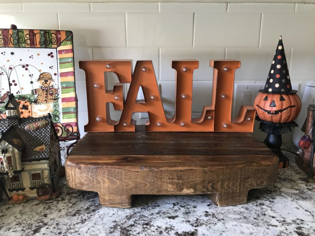 , Welcome y'all!  It's fall!