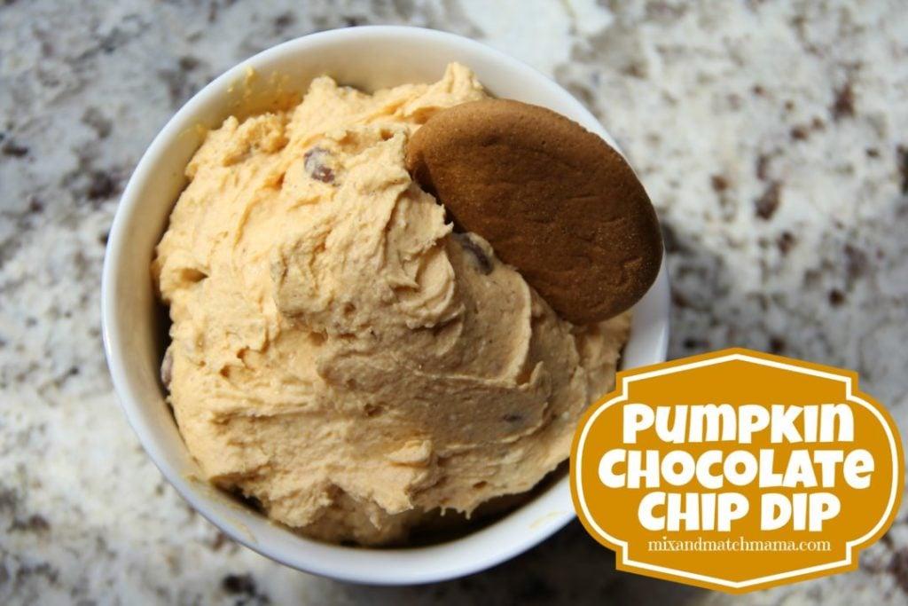 Pumpkin Chocolate Chip Dip Recipe, Pumpkin Chocolate Chip Dip