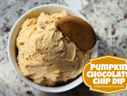 Pumpkin Chocolate Chip Dip