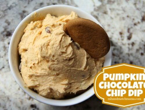 Pumpkin Chocolate Chip Dip