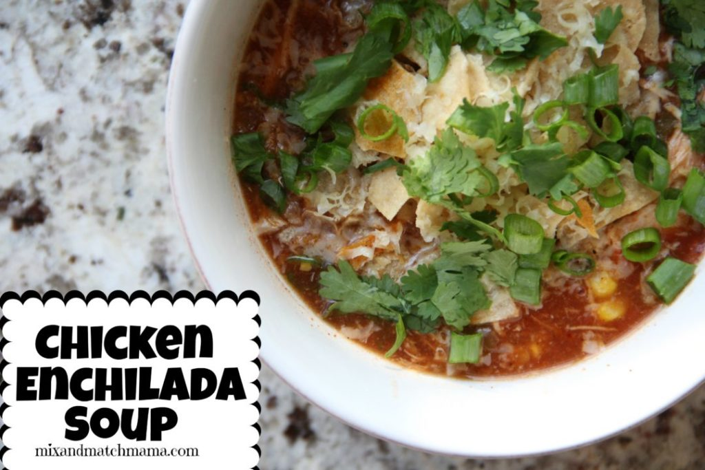Chicken Enchilada Soup Recipe, Chicken Enchilada Soup