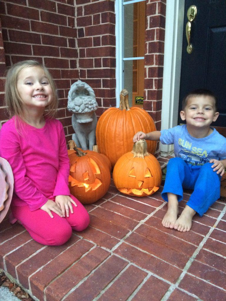 , A Spooktacular Supper for Pumpkin Carving