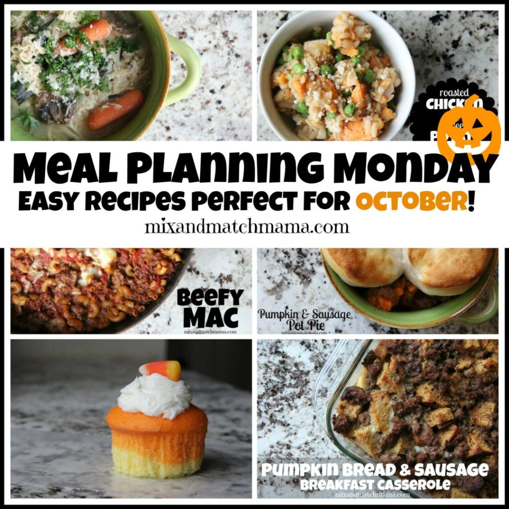 , Meal Planning Monday #203