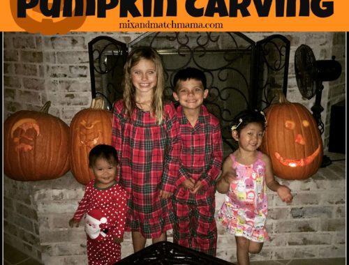 A Spooktacular Supper for Pumpkin Carving