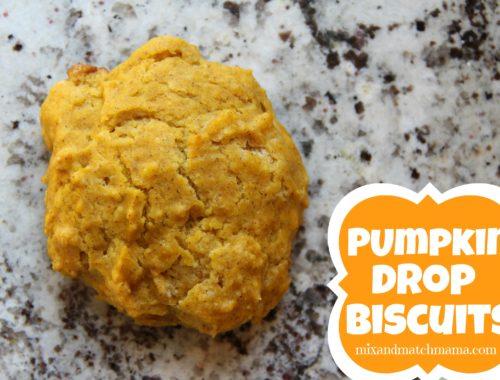 Pumpkin Drop Biscuits