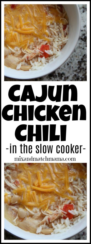 Cajun Chicken Chili