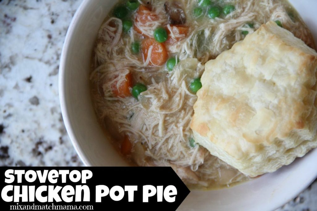 Stovetop Chicken Pot Pie
