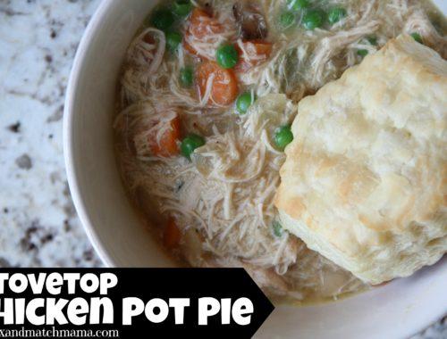 Stovetop Chicken Pot Pie
