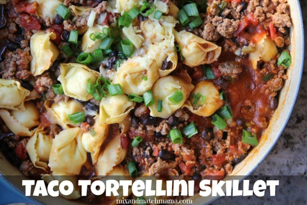 Taco Tortellini Skillet