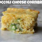 Broccoli Cheese Cornbread