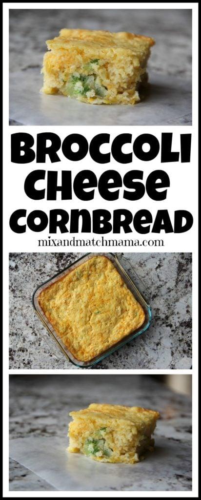 Broccoli Cheese Cornbread Recipe, Broccoli Cheese Cornbread