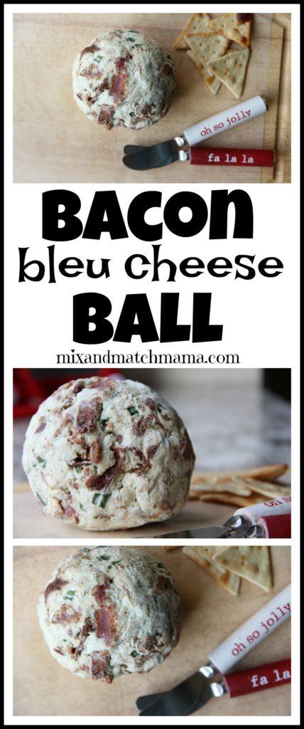 Bacon Bleu Cheese Ball