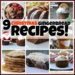9 Christmas Gingerbread Recipes