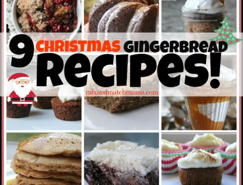 9 Christmas Gingerbread Recipes