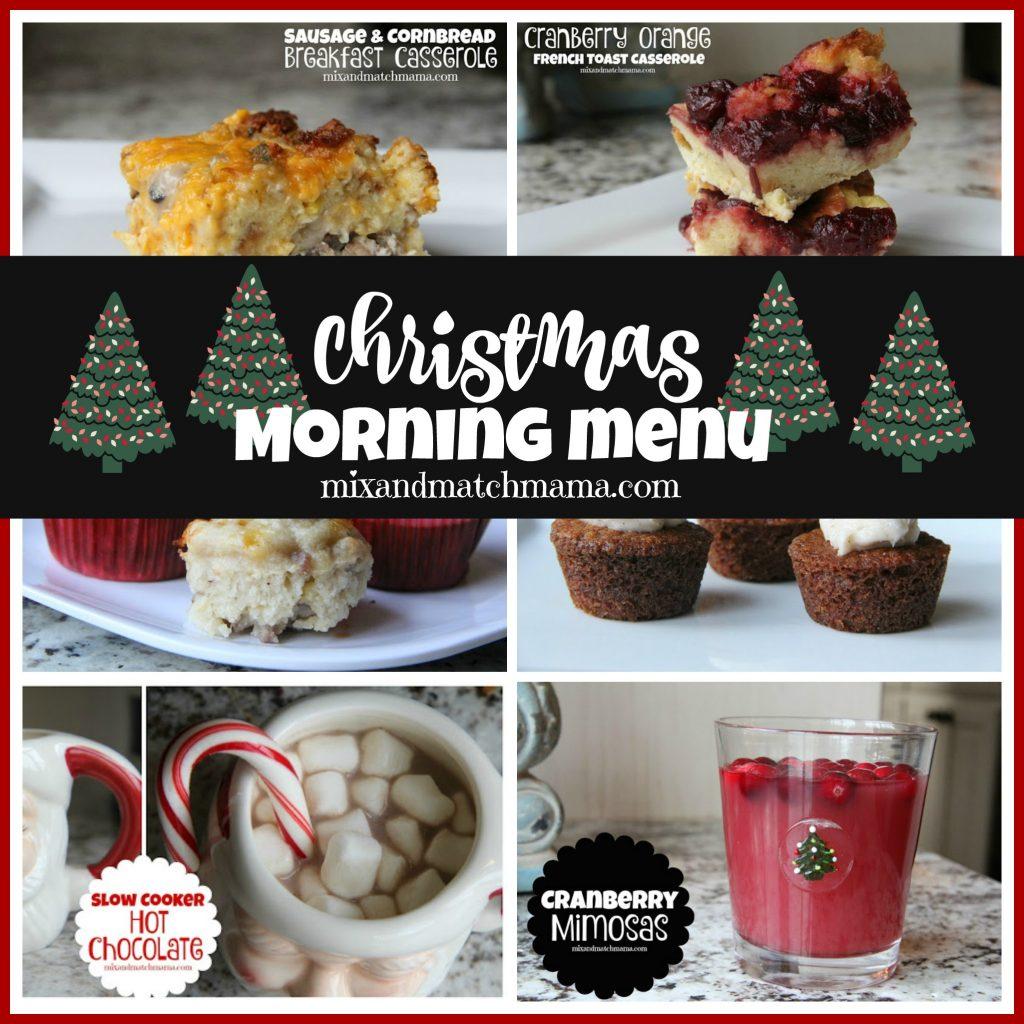 Christmas Morning Menu