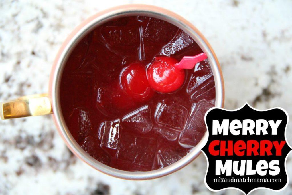 Merry Cherry Mules