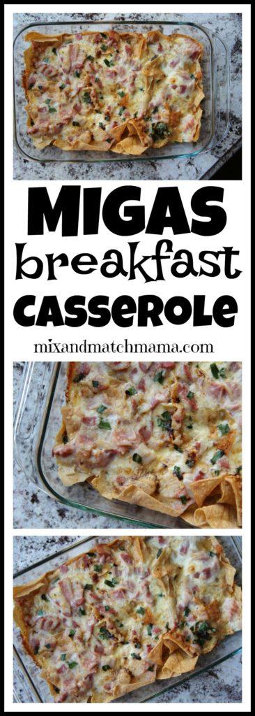 Migas Breakfast Casserole