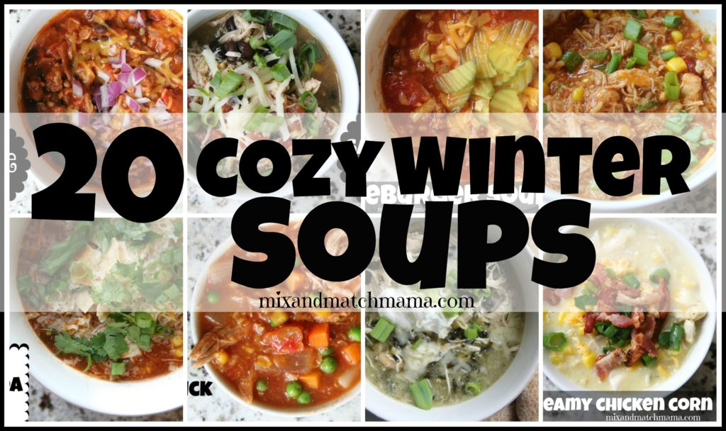 20 Cozy Winter Soups