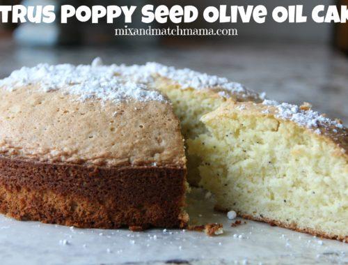 Citrus Poppy Seed Olive Oil Cake