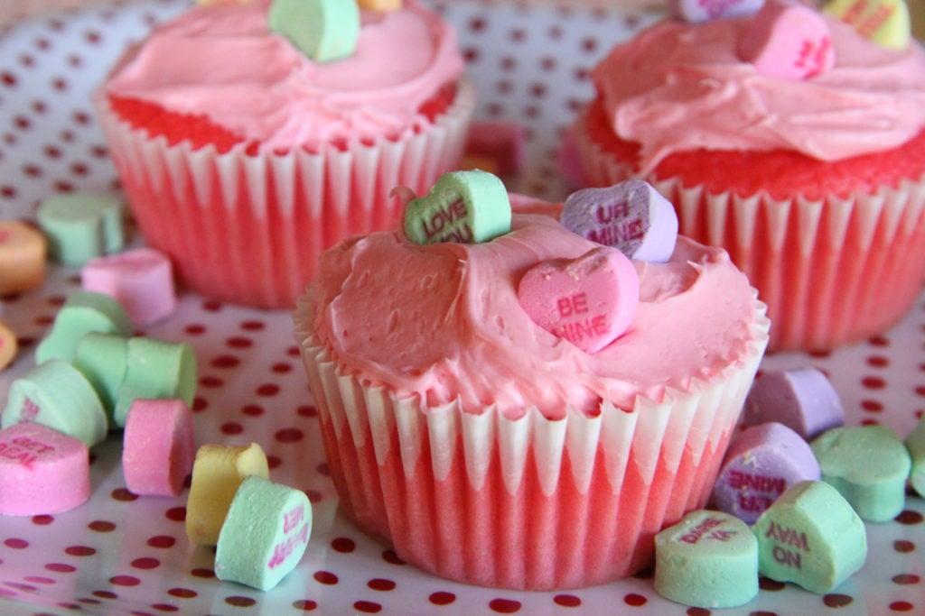 Cherry Koll-Aid Cupcakes