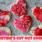 Valentine's Cut Out Cookies