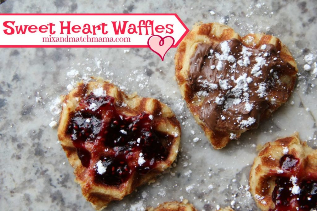 Sweet Heart Waffles