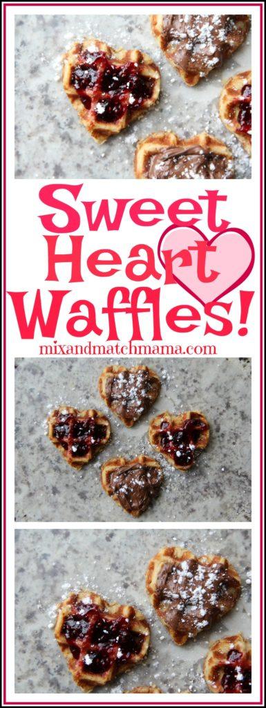Sweet Heart Waffles