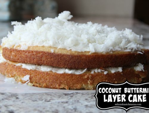 Coconut Buttermilk Layer Cake