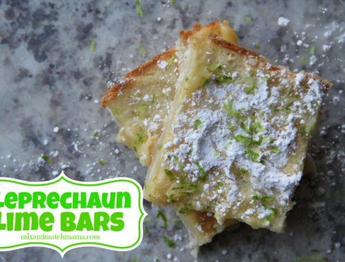 Leprechaun Lime Bars