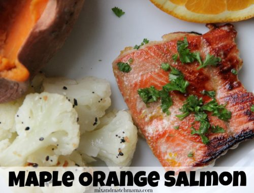 Maple Orange Salmon