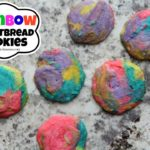 Rainbow Shortbread Cookies