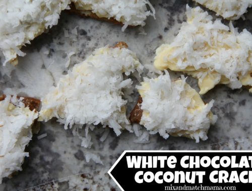 White Chocolate Coconut Crack