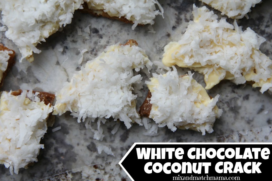 White Chocolate Christmas Crack Recipe.White Chocolate Coconut Crack Recipe Mix And Match Mama