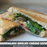 Bacon Marmalade Grilled Cheese Sandwiches
