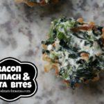Bacon, Spinach & Feta Bites