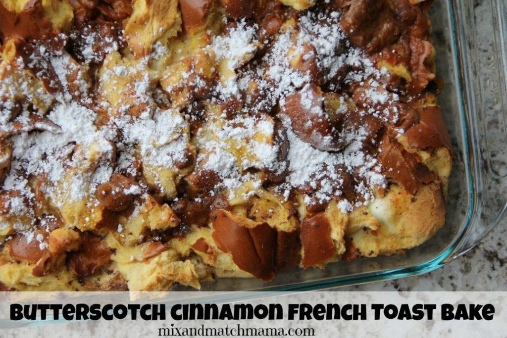 Butterscotch French Toast Bake