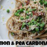 Lemon & Pea Carbonara
