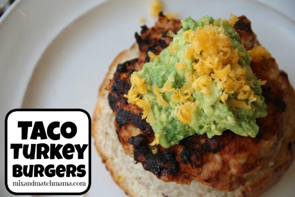 Taco Turkey Burgers